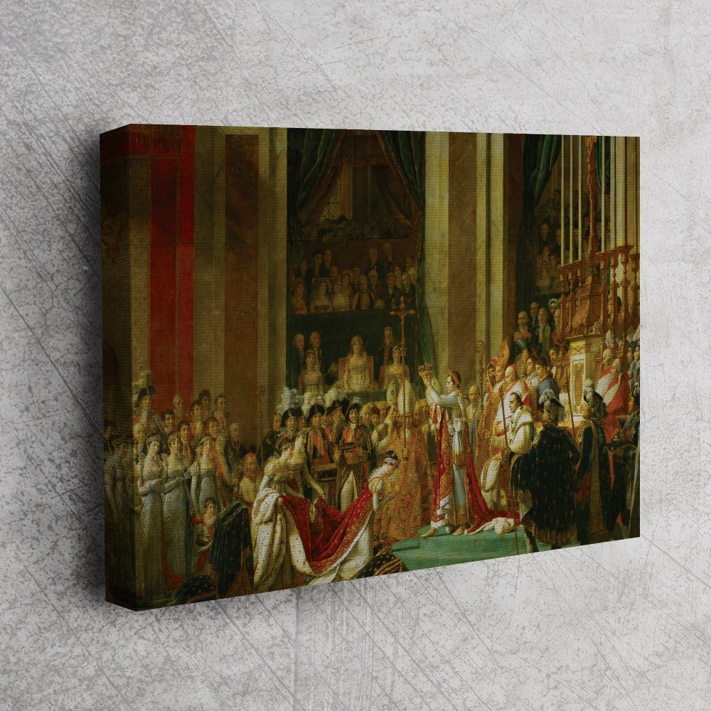 Jacques-Louis David - Le Sacre de Napoléon -