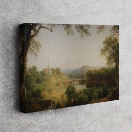 Asher Brown Durand - Bir Pazar Sabahı 1860 V2