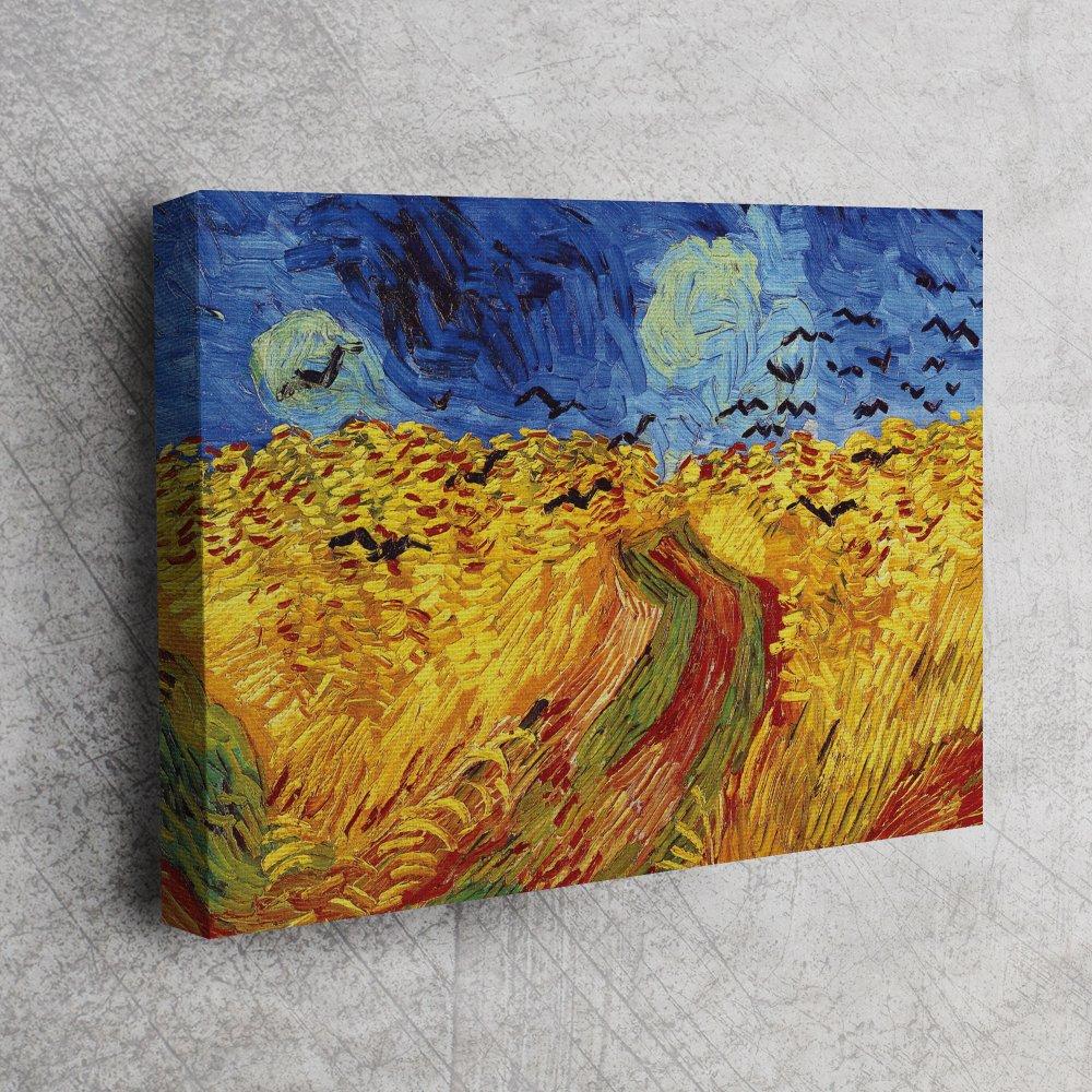 Van Gogh Buğday Tarlası Ve Kargalar Van Gogh Buğday Tarlası