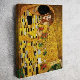 "Gustav Klimt - The Kiss ""Öpücük"" Tablosu"