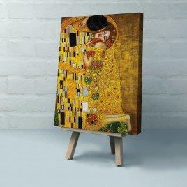 """Gustav Klimt - The Kiss """"Öpücük"""" Tablosu"""