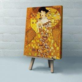 Gustav Klimt - Adele Bloch-Bauer'in Portresi I