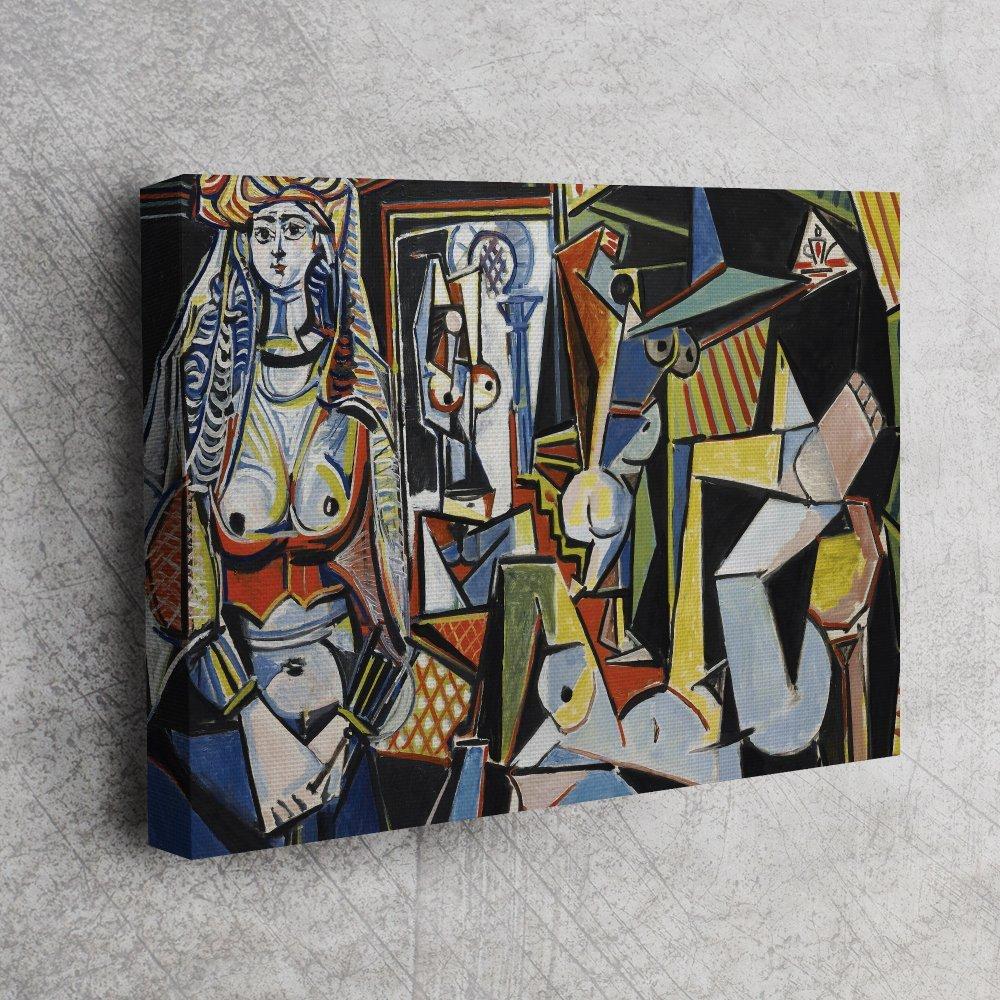 Pablo Picasso - Cezayir Kadınları 1955