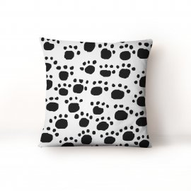 Black and White Cushion Cover - CM-4092